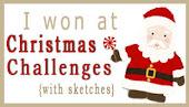 gagnante chez christmas + sketch