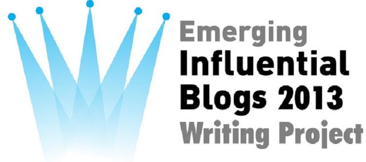 Emerging Influential Blogs 2013 – my picks!