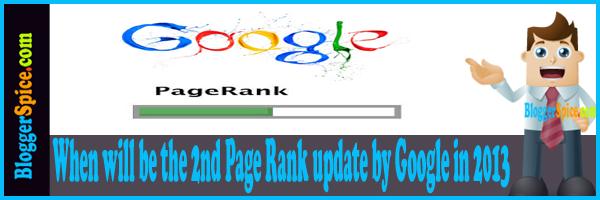 Google page Rank 2013