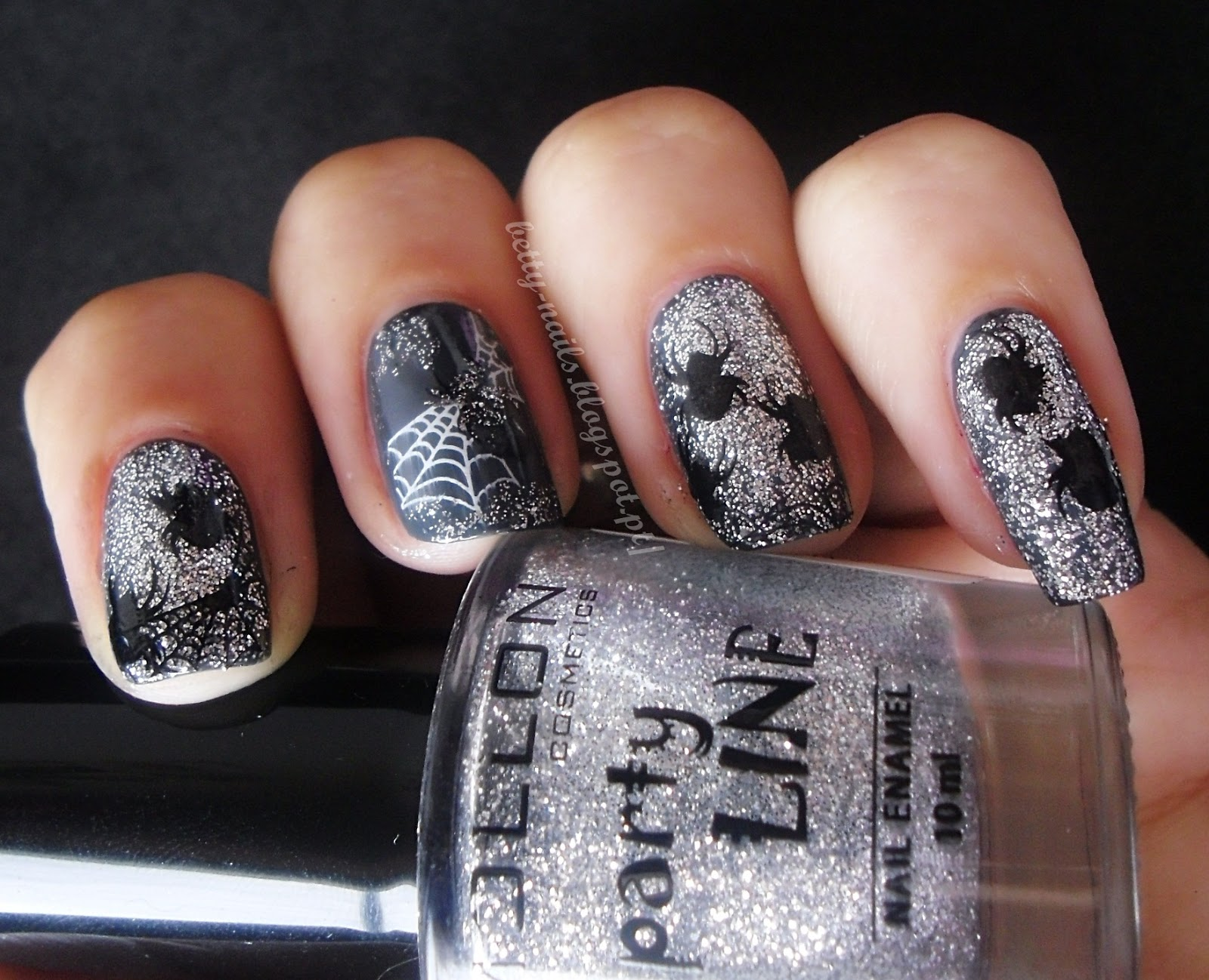 Betty Nails: Freestyle Nails - Spiders and Webs [Crumpet\'s Nail Tart ...