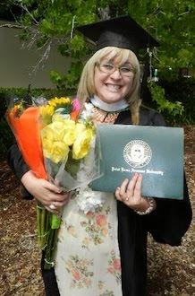 I graduated..