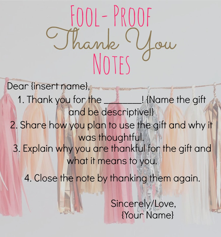How to write a graduation thank you letter choice image letter cottons pickins fool proof thank you notes feat tiny prints spiritdancerdesigns Images
