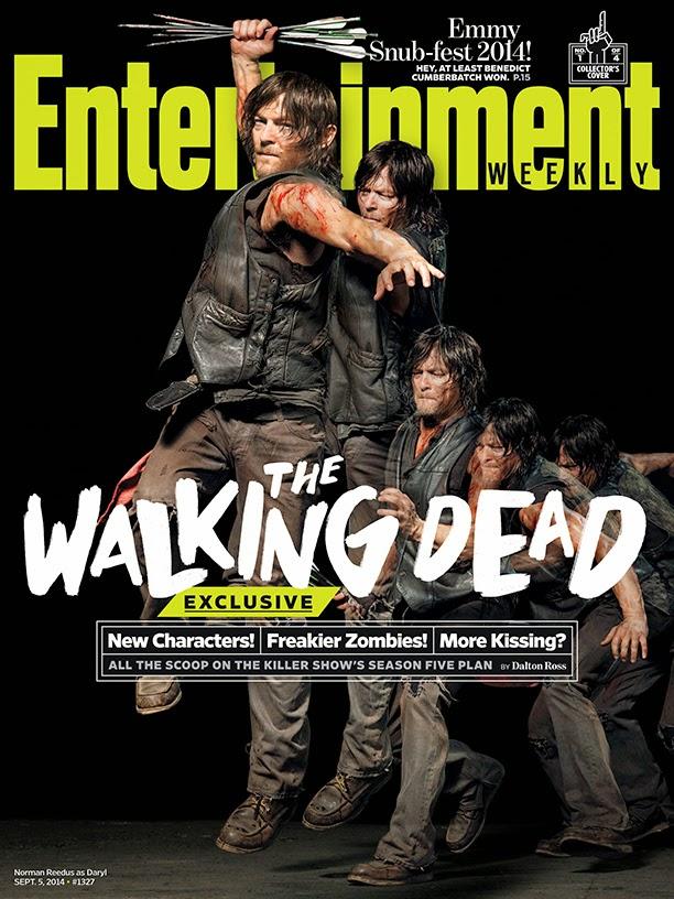 Portada de EW dedicada a Daryl y la 5ª temporada de The Walking Dead