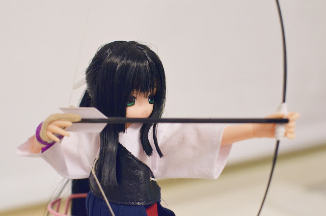 excute miu kyudo bow