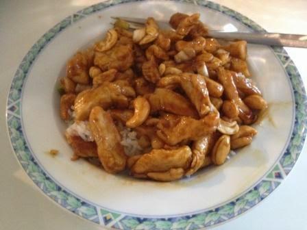 Thai chicken cashewnut (en 100e blogpost!)