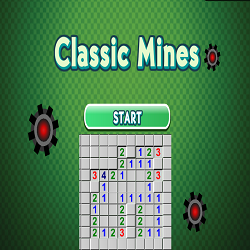 Classic Mines Logical Game
