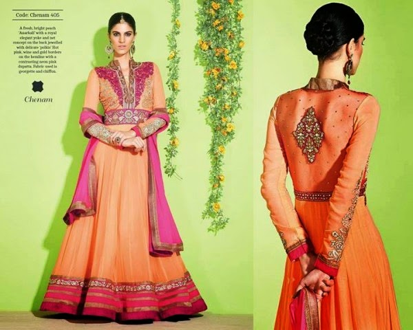 Indian Formal Fancy Anarkali Frocks 2014