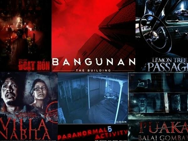 Filem Seram Di pawagam Sepanjang Tahun 2015