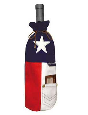 TEXAS Wine Bottle Bag