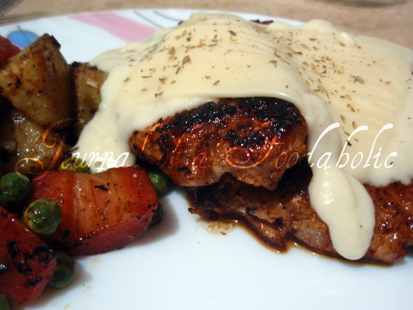 how to make white sauce with steak