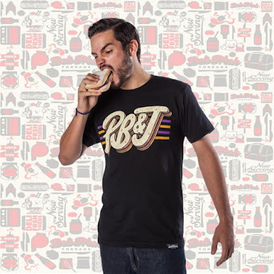 Peanut Butter and Jelly T-Shirt by Deli Fresh Threads