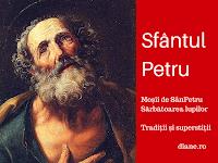 superstitii si traditii de Sfantul Petru