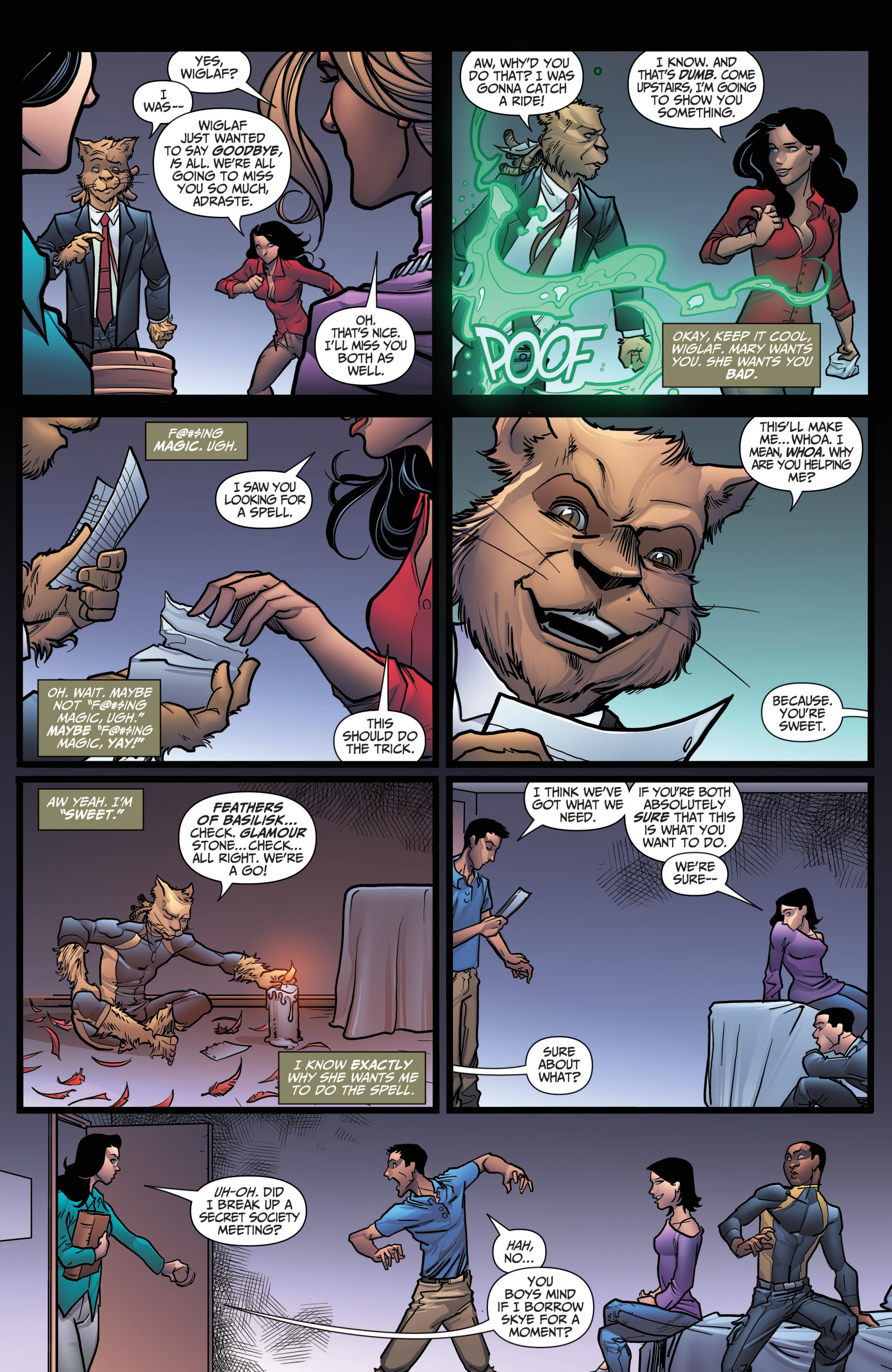 Grimm Fairy Tales (2005) Issue #118 #121 - English 5