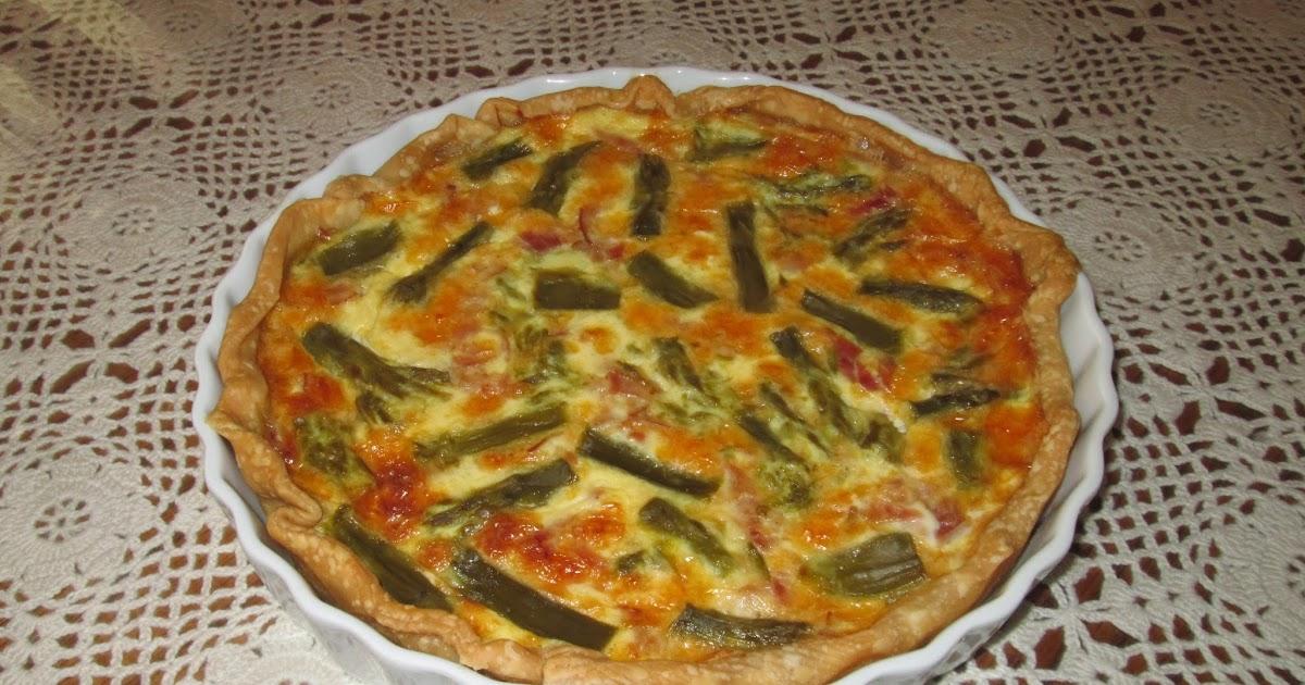 My Cuban Traumas: Ham and Asparagus Quiche - Quiche de ...