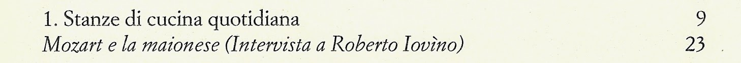 Mozart Roberto Iovino Accademia Italiana della Cucina maionese