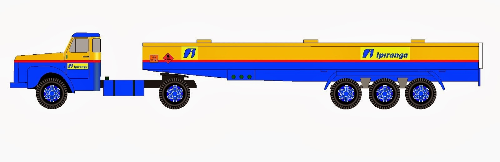 Scania 110 trailer fuel tank Ipiranga Rev1 esc:1:50