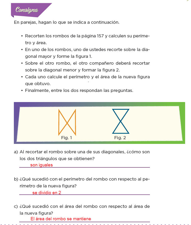 Respuestas Transformación de figuras - Desafíos matemáticos 6to Bloque 5to 2014-2015
