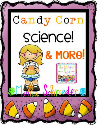 Fall Candy Corn Science