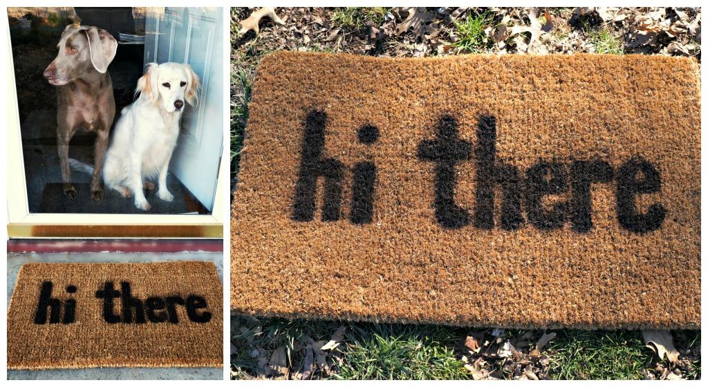 Good Natured Diy Welcome Doormat