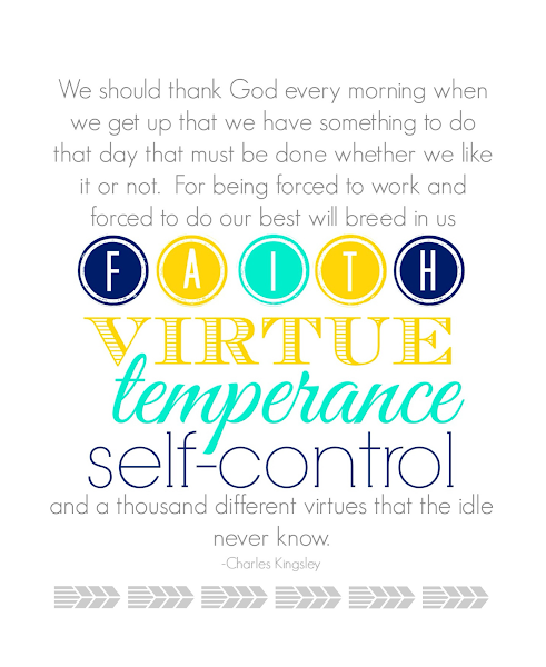 Our Good Fortune That Life Is Difficult {Printable} from Blissful Roots
