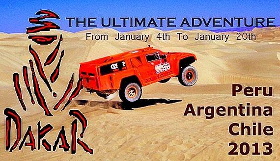 RALLY DAKAR 2013 EN AREQUIPA: (07 y 08 enero) PUNTOS DE OBSERVACION