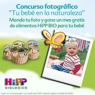 Concurso fotográfico HiPP tu bebé en la naturaleza