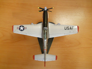 jet  Italeri 1:100 scale P-51 Mustang