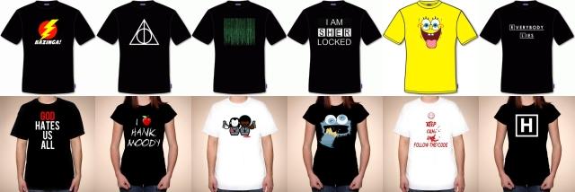 koszulki z filmów i seriali