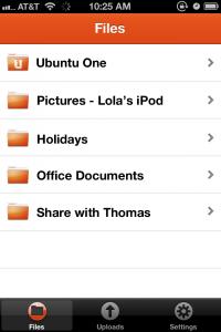 Ubuntu One for iOS App Released
