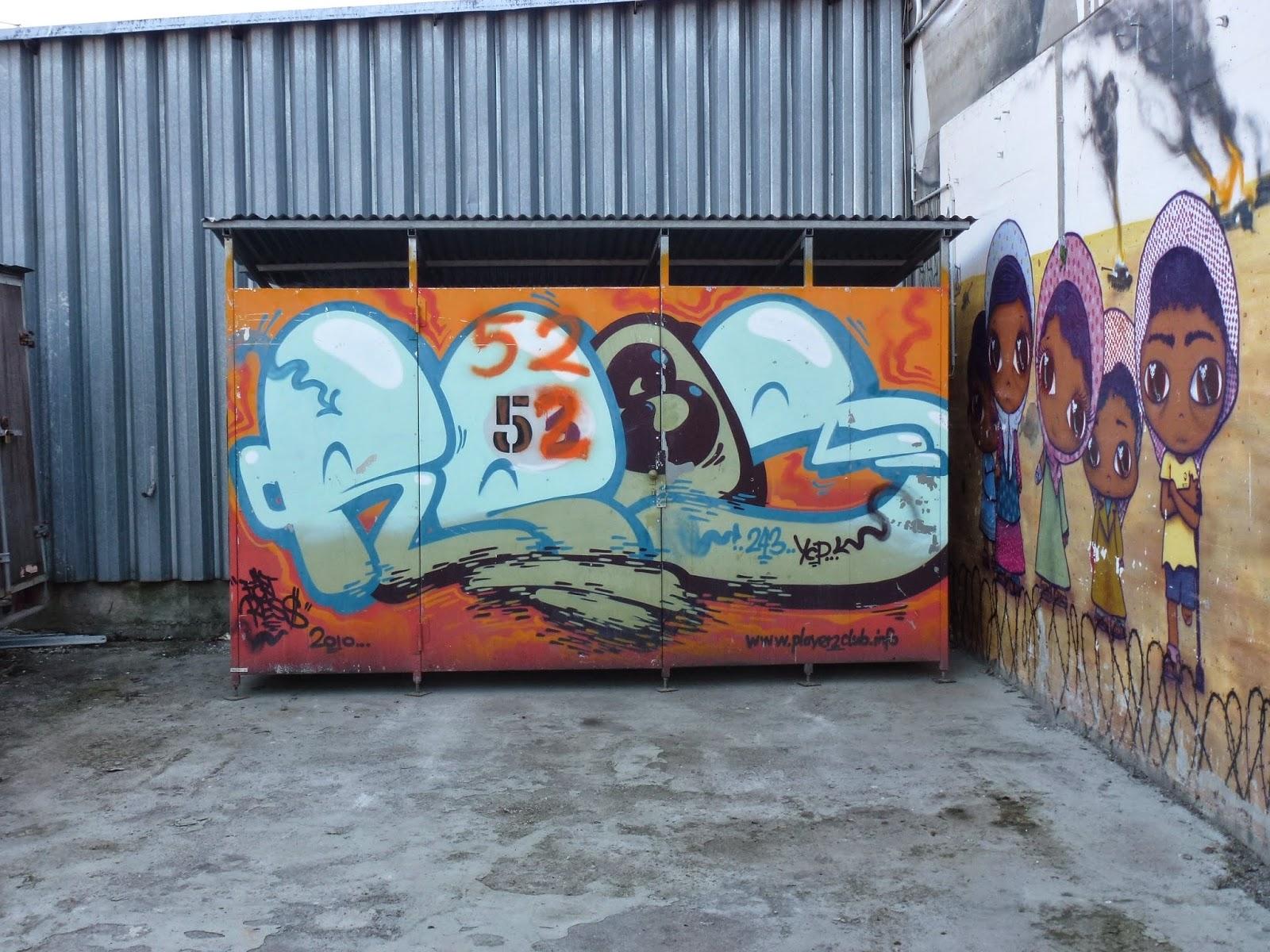 Graffiti, Streetart, Kunstpart Ost, München