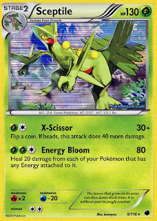 Sceptile Plasma Freeze Pokemon Card