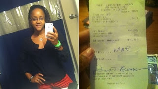 Red Lobster Waitress Gets $10K Tip After Racist Receipt