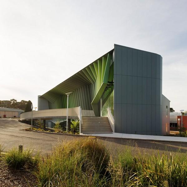 Green school concept