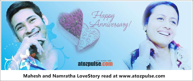 Mahesh+naamratha+anniversary+1+  +AtoZpuLse.com Exclusive Mahesh and Namratha Love story   AtoZpuLse