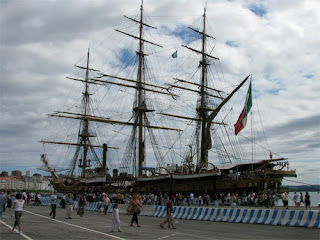 regata grandes veleros cadiz 2012