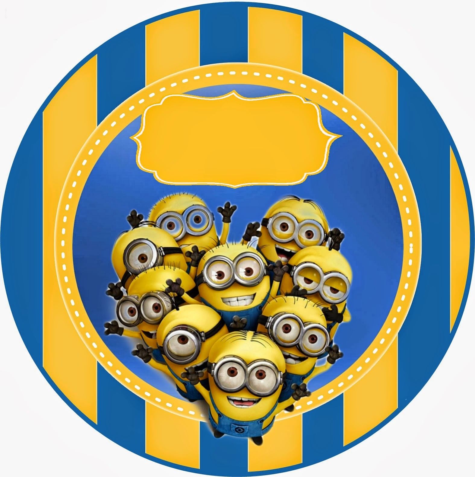 Despicable me 2 free printable kit oh my fiesta in english for Stickers infantiles