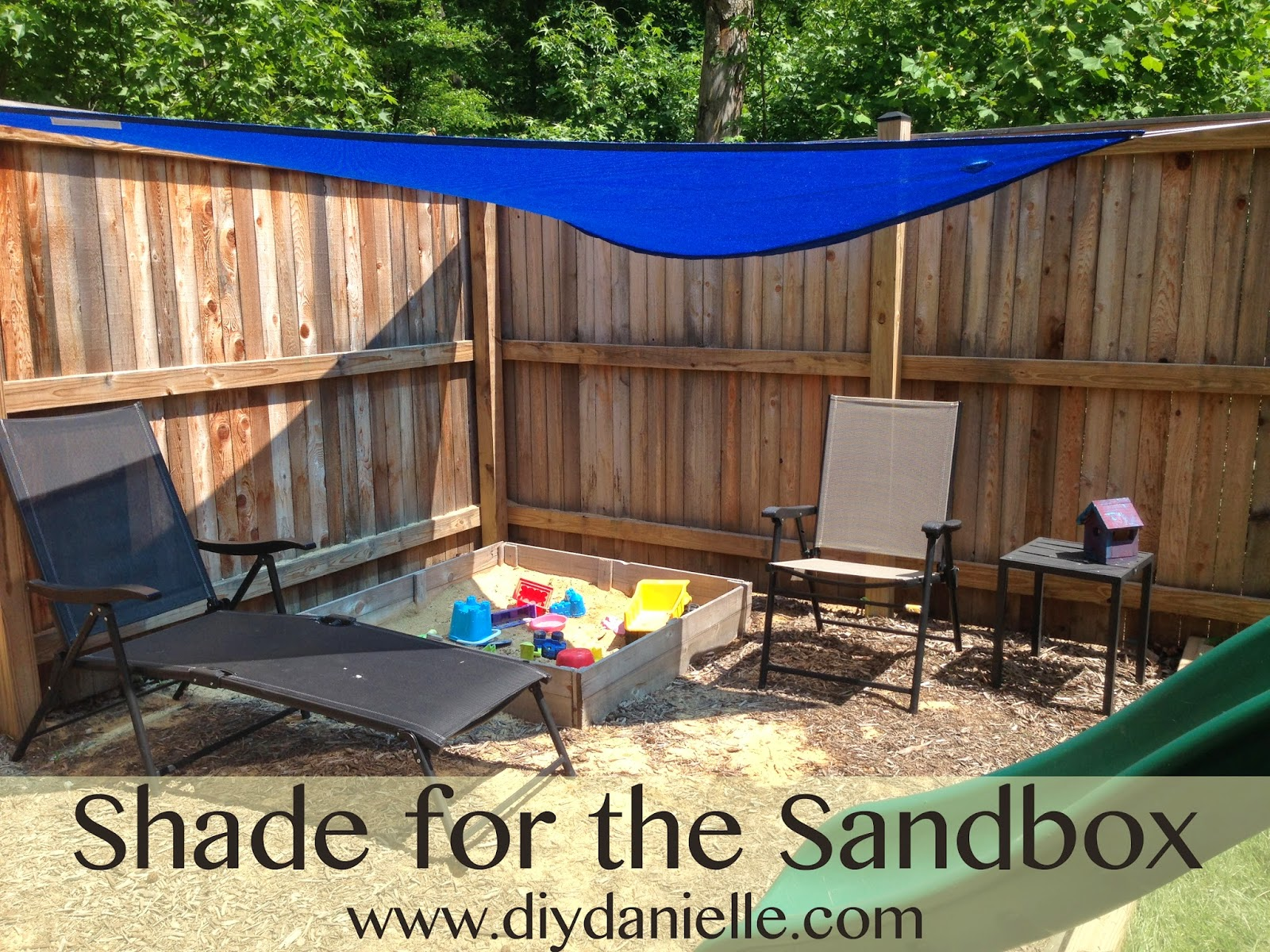 An Easy Way to Shade a Sandbox