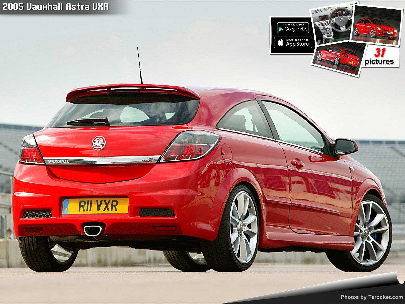 Hình ảnh xe ô tô Vauxhall Astra VXR 2005 & nội ngoại thất