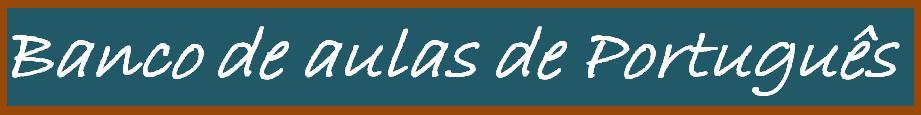 Banco de aulas de português