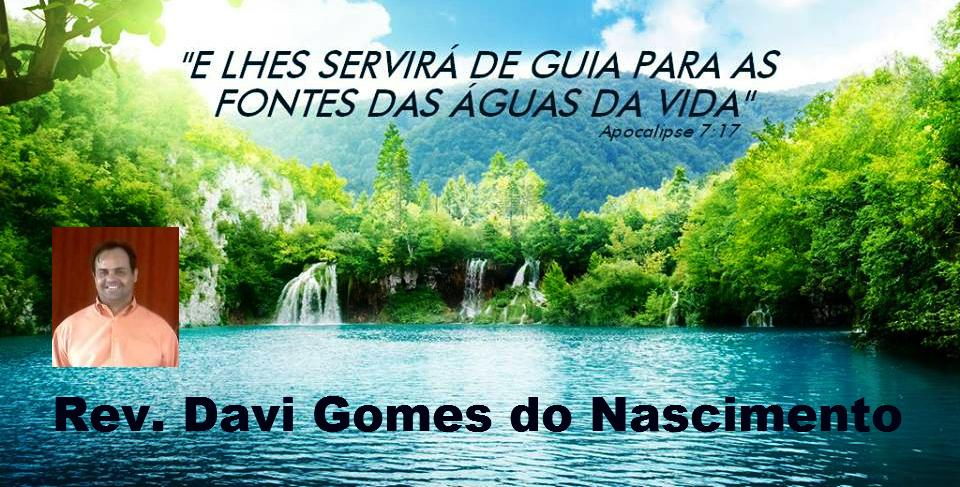 Rev. Davi Gomes do Nascimento