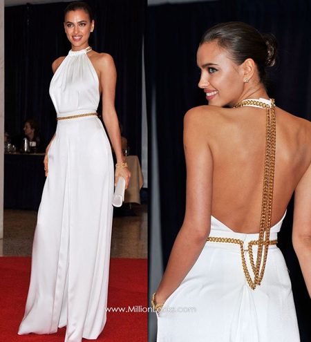 white backless