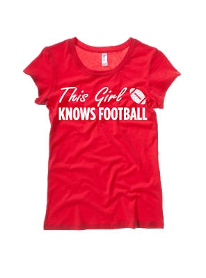 This Girl Knows Football Tee