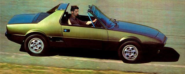 conversível Dardo F 1.3 - 1979.  Com mecânica Fiat - fabricado pela Corona SA - Foto Heitor Hui