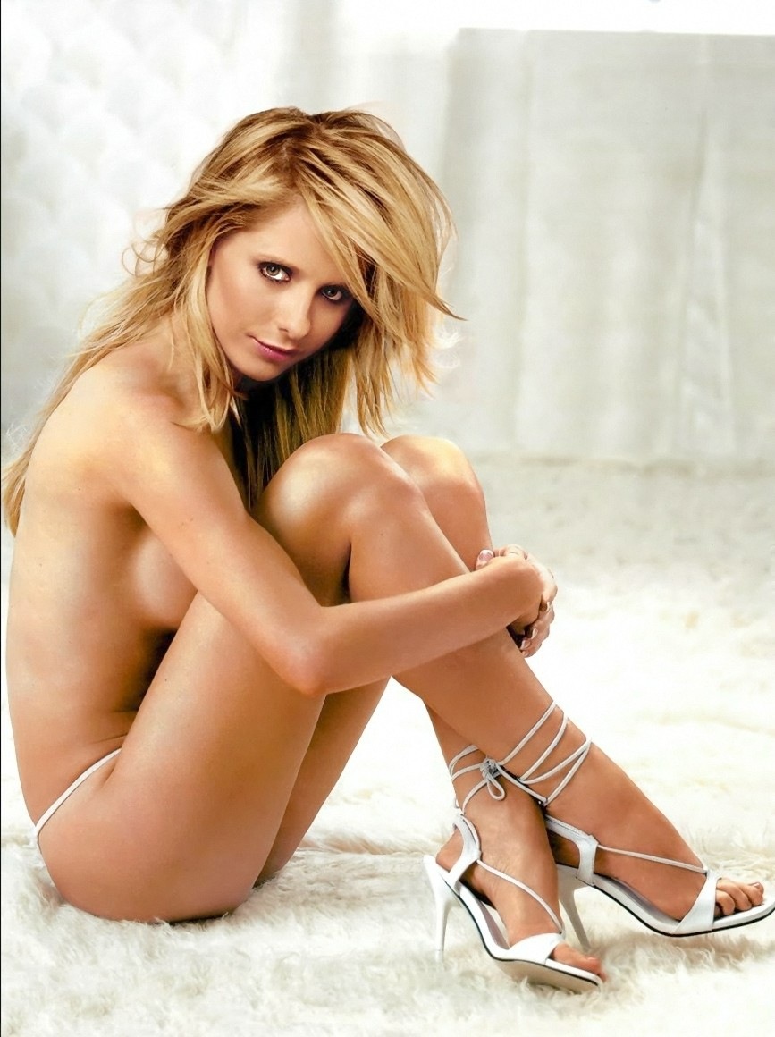 Agree, sarah michelle gellar fakes me?