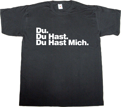 rammstein rock t-shirt ephemeral-t-shirts