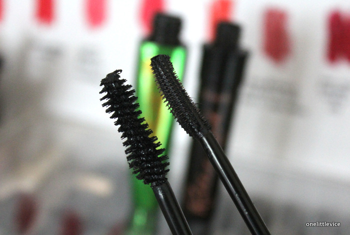 onelittlevice beauty blog: high end vs drugstore mascara