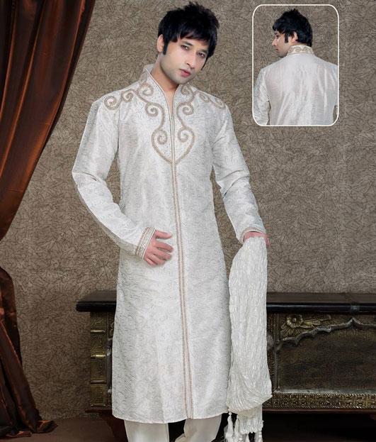Gent Stylish Kurta 2012-13 | Embroidered Kurta Pyjama For Men | Wedding Kurta Pajama Designs - B ...
