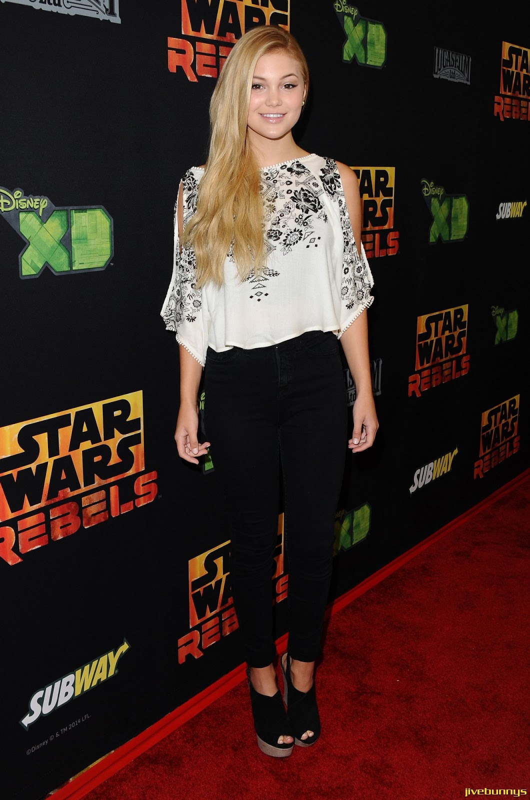 Olivia Holt - 'Star Wars Rebels' Premiere in Century City 09/27/14