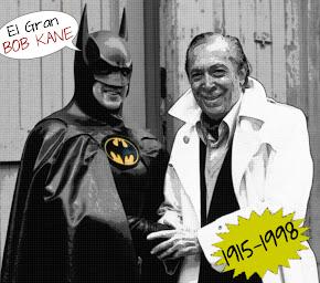Homenaje a Bob Kane