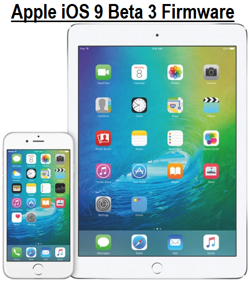 Download iOS 9 Beta 3